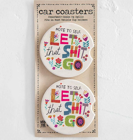 Note To Self Car Coasters
