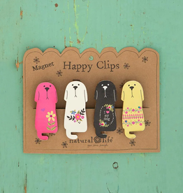 Magnet Happy Clip 4 Dogs