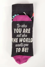 Be Who You Are Crew Socks