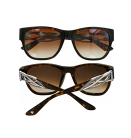 Brighton Neptune's Rings Swirl Sunglasses - Tortoise