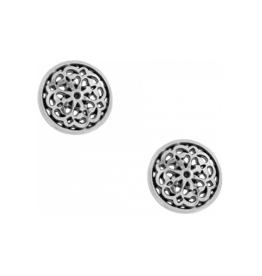 Brighton Ferrara Stud Earrings Silver