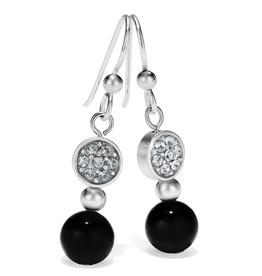 Brighton Meridian Petite Prime French Wire Earrings - Black