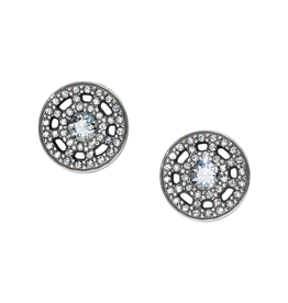 Brighton Illumina Post Earrings - Silver