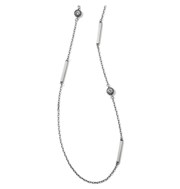 Brighton Twinkle Bar Long Necklace - Silver