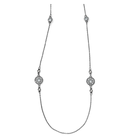 Brighton Illumina Long Necklace - Silver