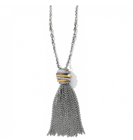 Brighton Neptune's Rings Tassel Necklace - Silver & Gold