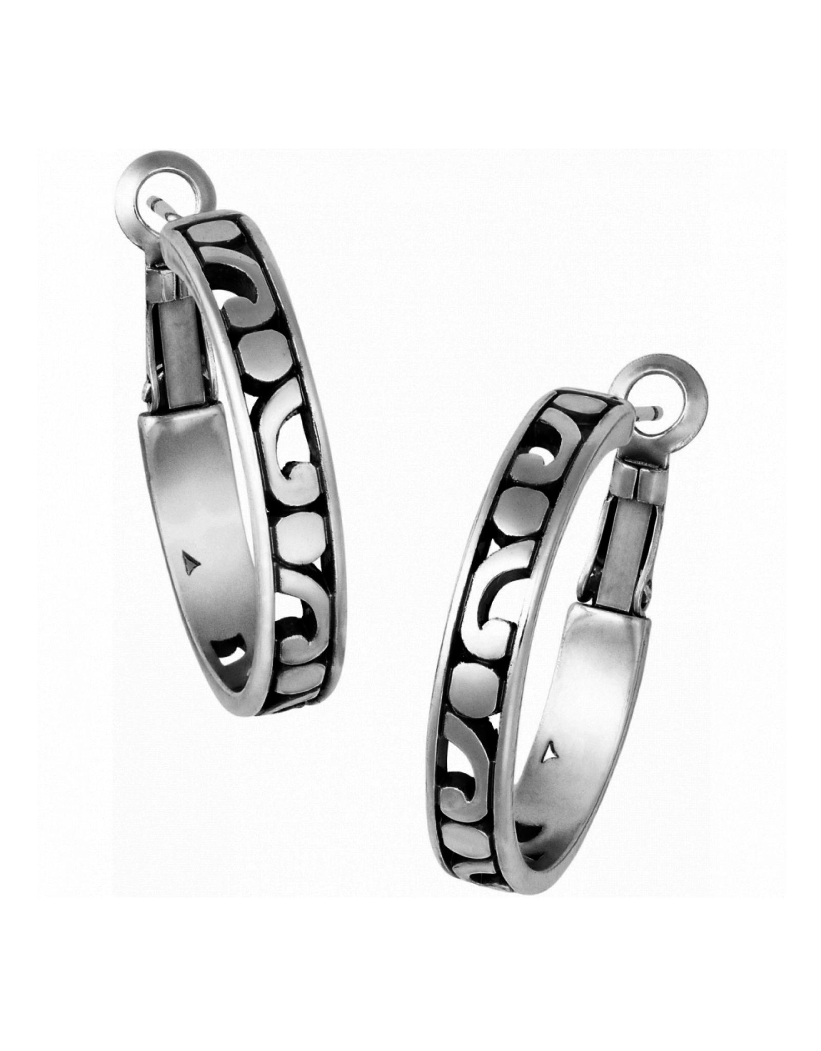 Brighton Contempo Small Hoop Earrings - Silver