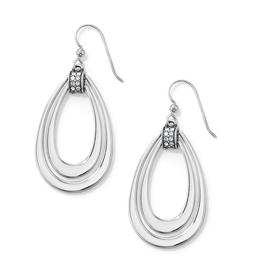 Brighton Meridian Swing French Wire Earrings - Silver