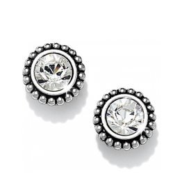 Brighton Twinkle Medium Post Earrings - Silver