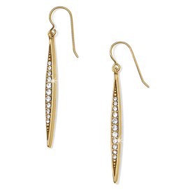 Brighton Contempo Ice French Wire Earrings - Gold