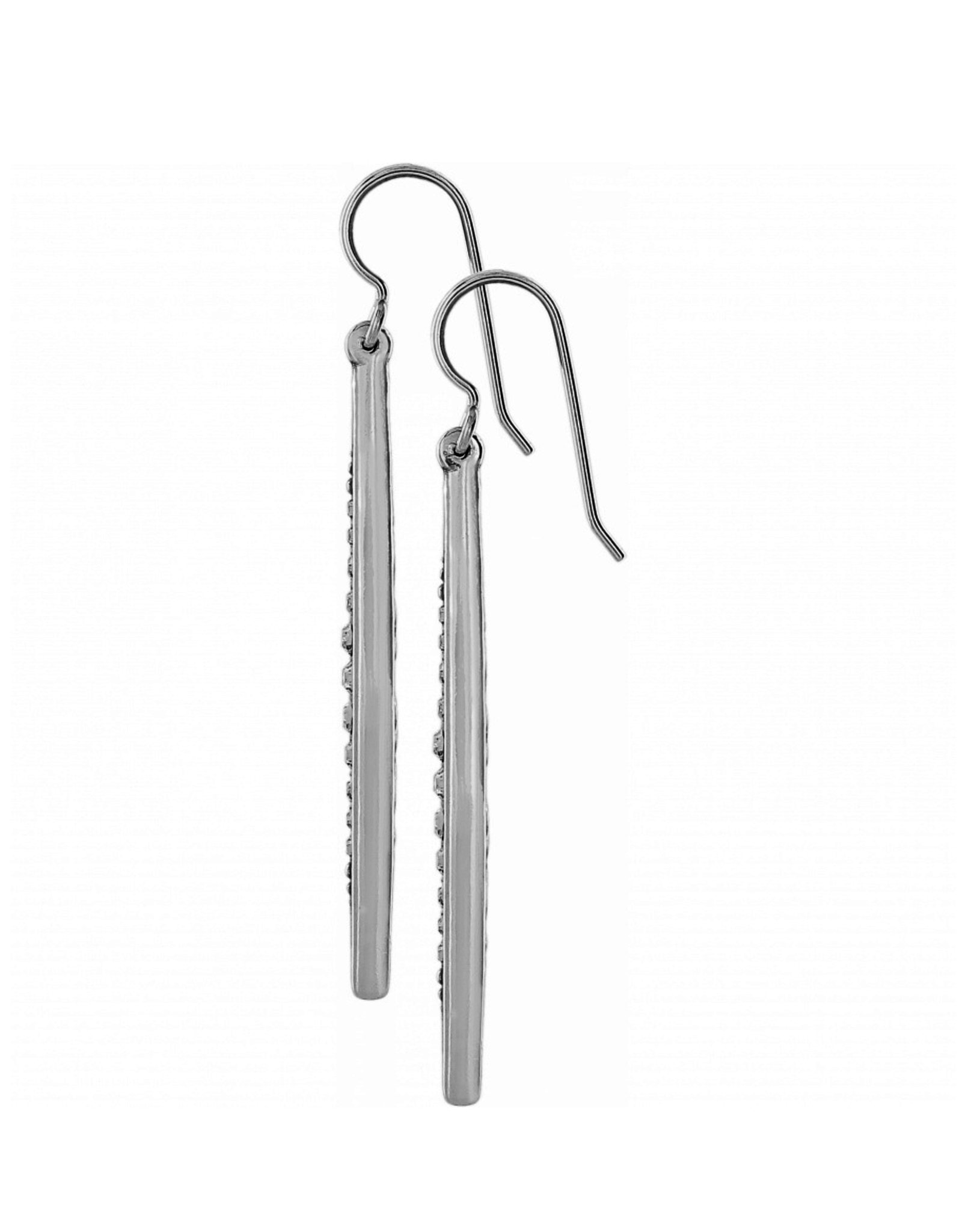 Brighton Contempo Ice French Wire Earrings - Silver