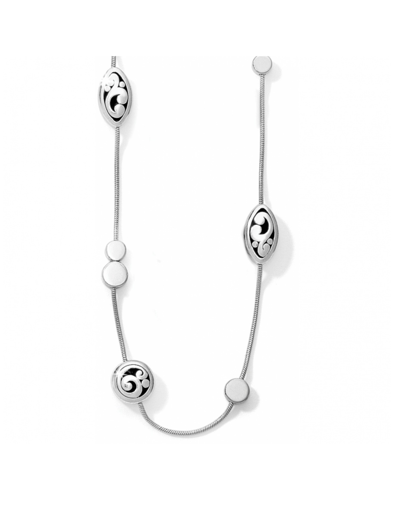 Brighton Contempo Long Necklace - Silver