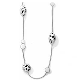 Brighton Contempo Long Necklace - Silver