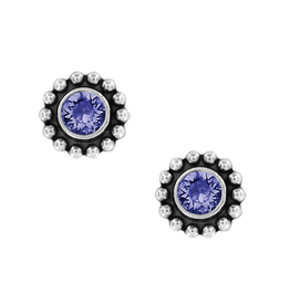 Brighton Twinkle Mini Post Earrings - Tanzanite