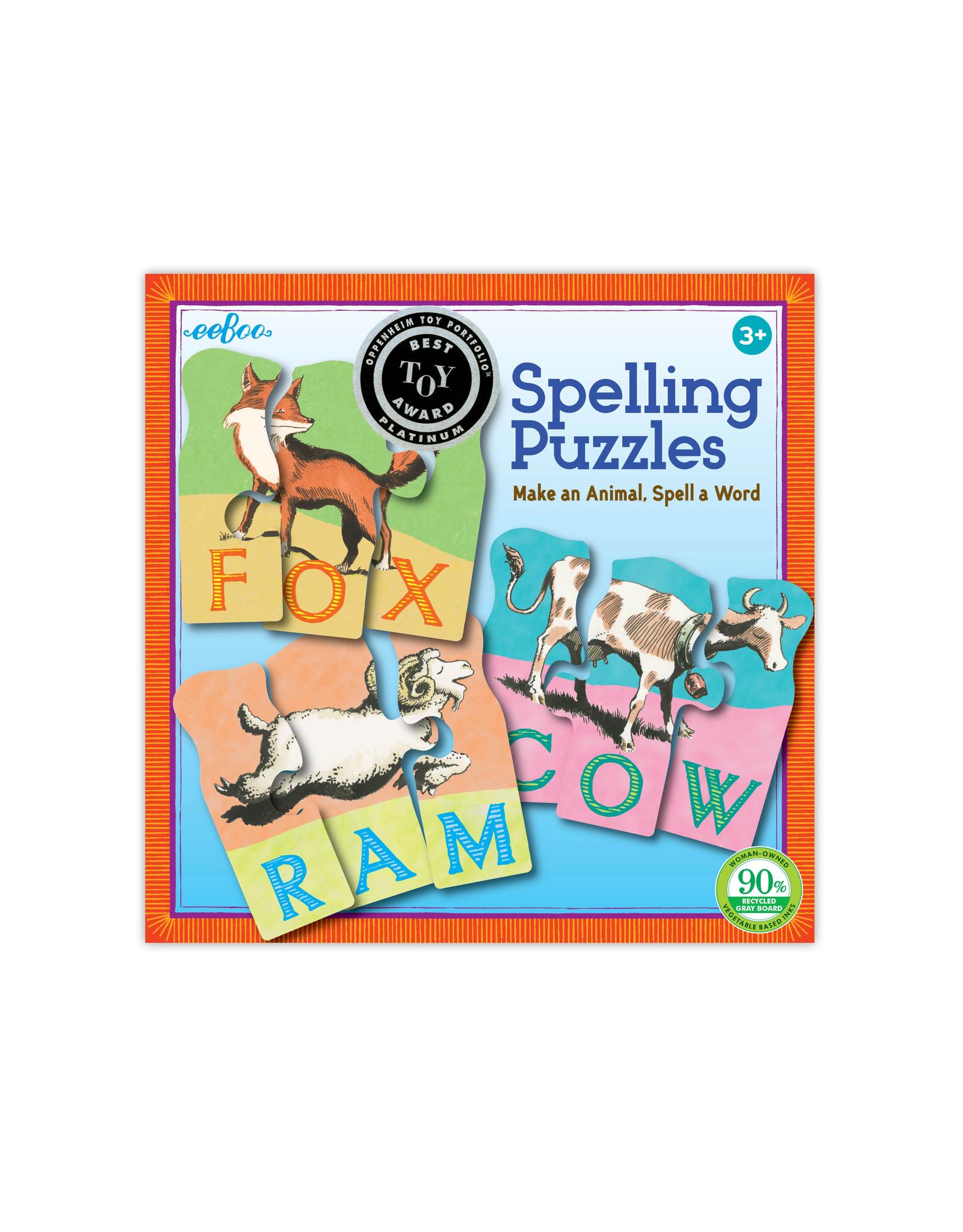 Animal Spelling Puzzle