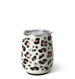 14oz Stemless Wine - Luxy Leopard