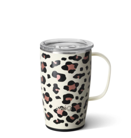 18oz Insulated Mug - Luxy Leopard