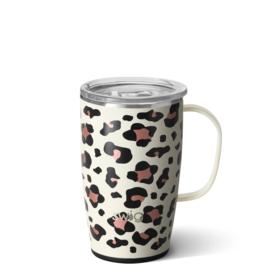 18oz Insulated Mug - Luxy Leopard