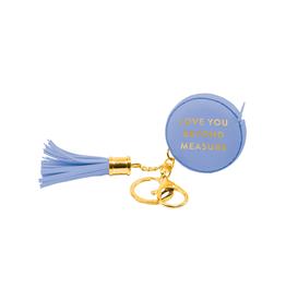 Eccolo Measuring Key Chain - Love You