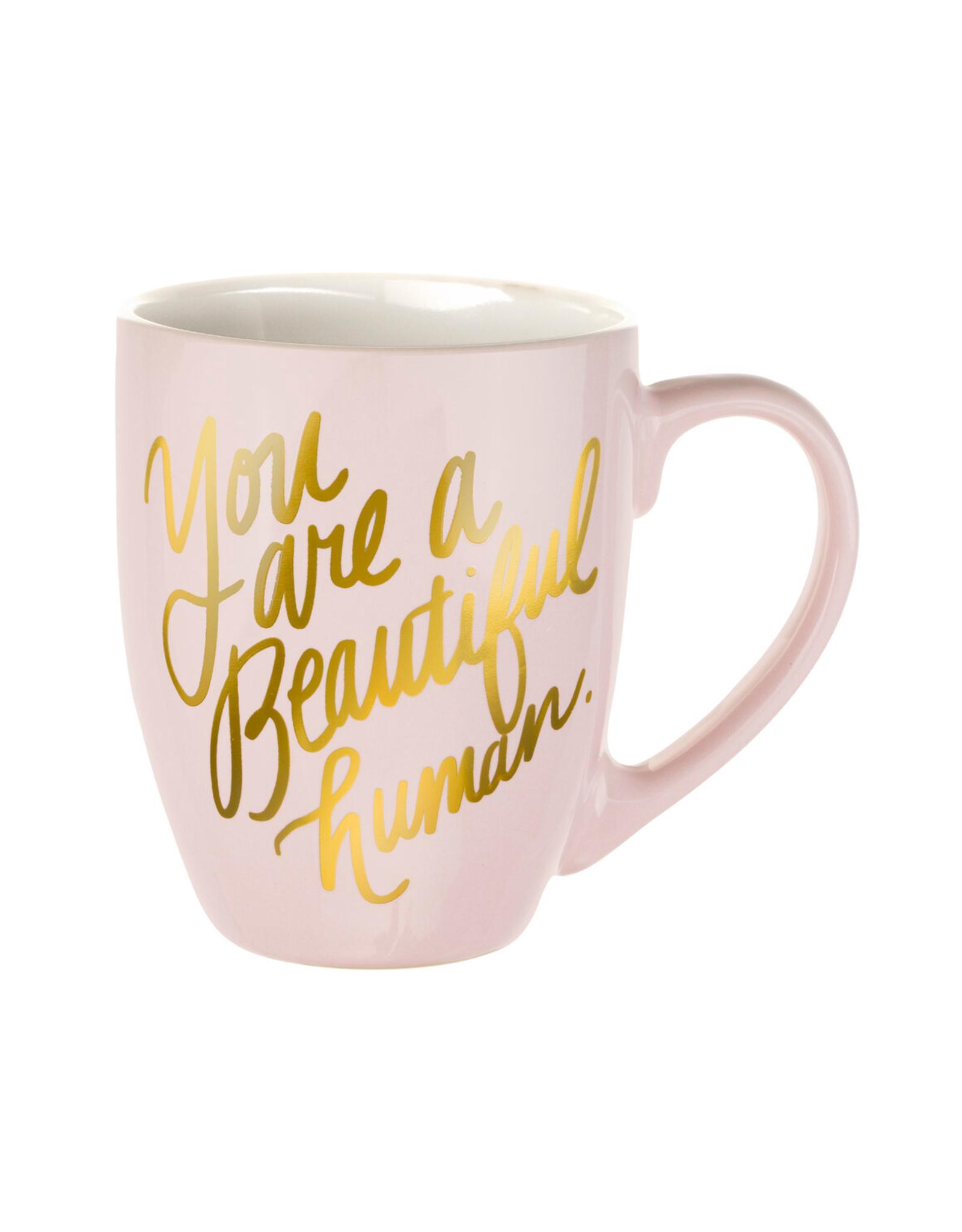 Eccolo Beautiful Human Pink Mug