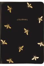 Eccolo Essential Black Bee Journal 5X7