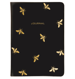 Eccolo Essential Black Bee Journal 5X7