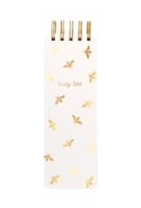 Eccolo Busy Bee Spiral Memo Pad 3X9