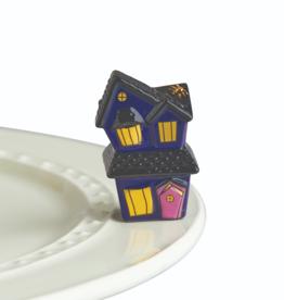 nora fleming Haunted House Mini A253