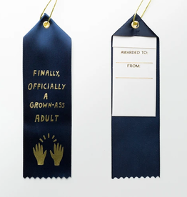 Official Grown-Ass Adult Ribbon