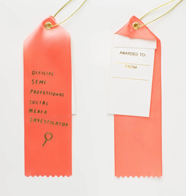 Social Media Investigator Ribbon