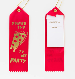 Pizza To My Party Ribbon