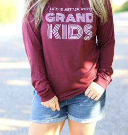 Life Is Better With Grandkids Tee