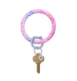 O Venture Silicone O-Ring Pink Cheetah