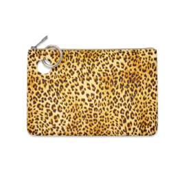 O Venture Large Silicone Pouch - Cheetah