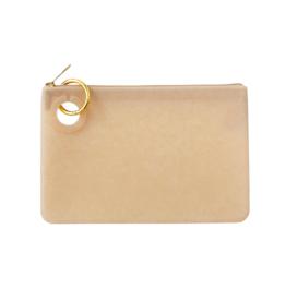 O Venture Large Silicone Pouch - Gold Rush Confetti
