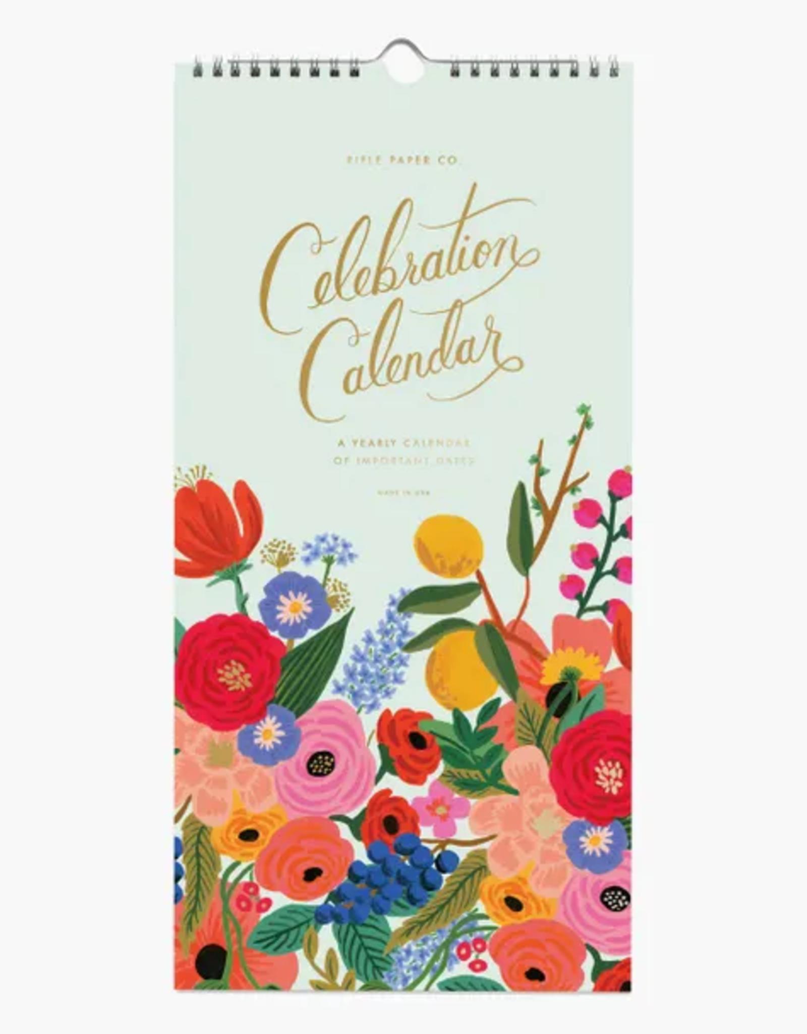 Celebration Wall Calendar