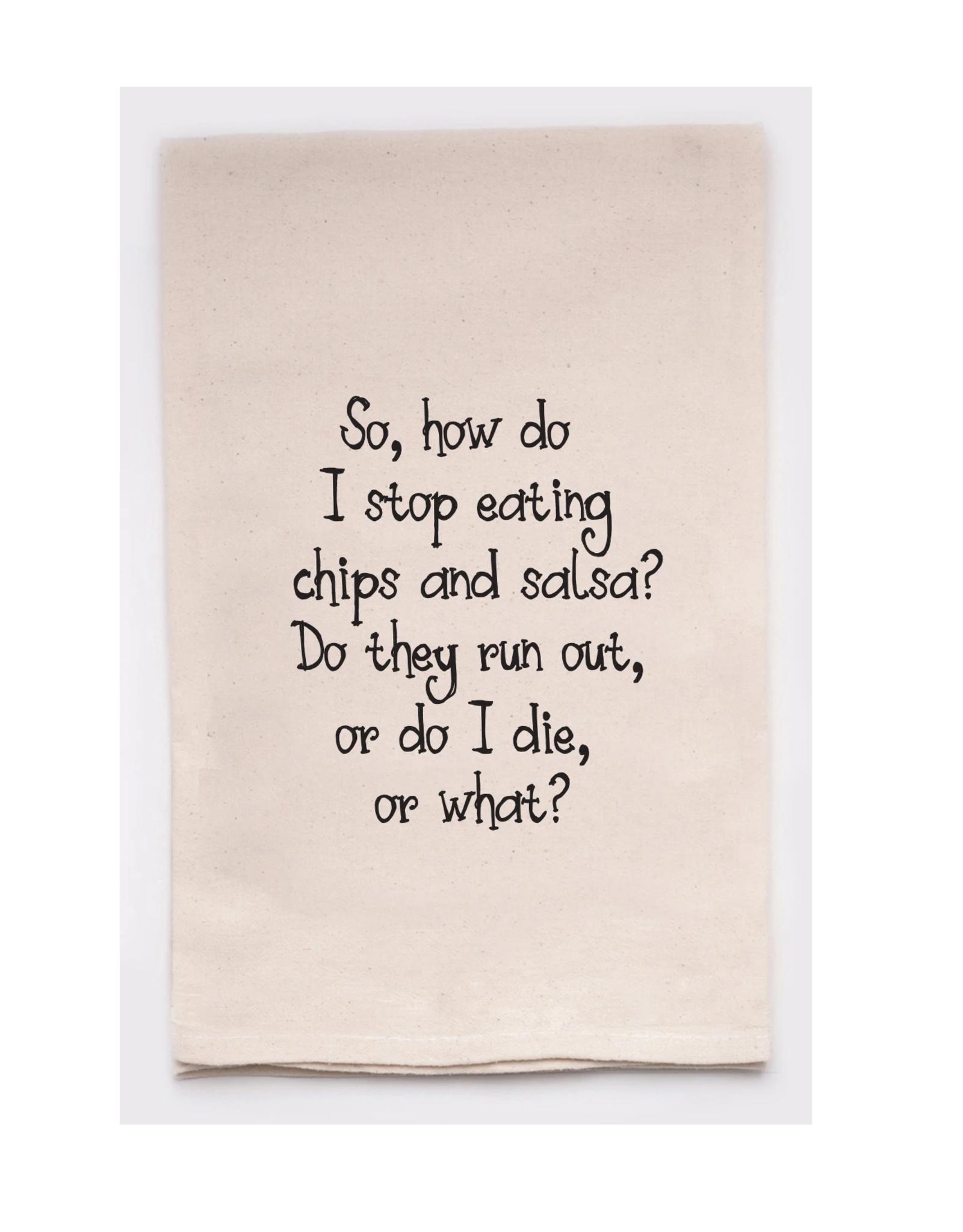 Chips & Salsa Towel
