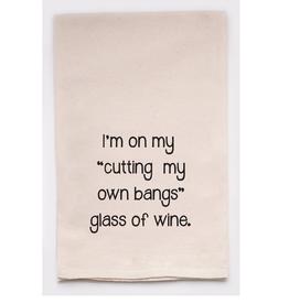 Wine Bangs Towel