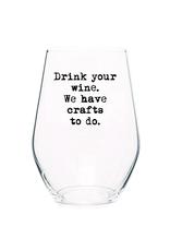 Crafts To Do Wine Glass