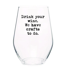 Crafts To Do Wine Glass