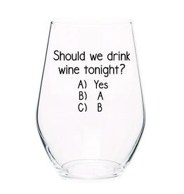 Should We Drink Wine Glass