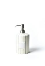 Coton Colors Cylinder Soap Pump - Skinny Stripe
