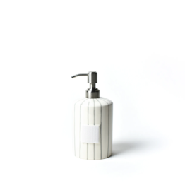 Coton Colors Cylinder Soap Pump - Skinny Stripe