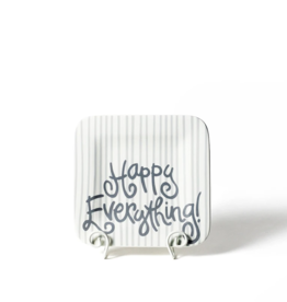 Coton Colors Happy Everything Mini Platter - Skinny Stripe