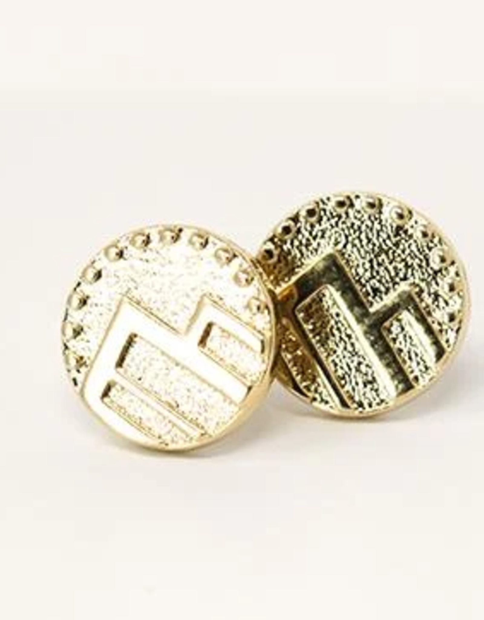Pieces of Me Adventurous Earrings - Gold