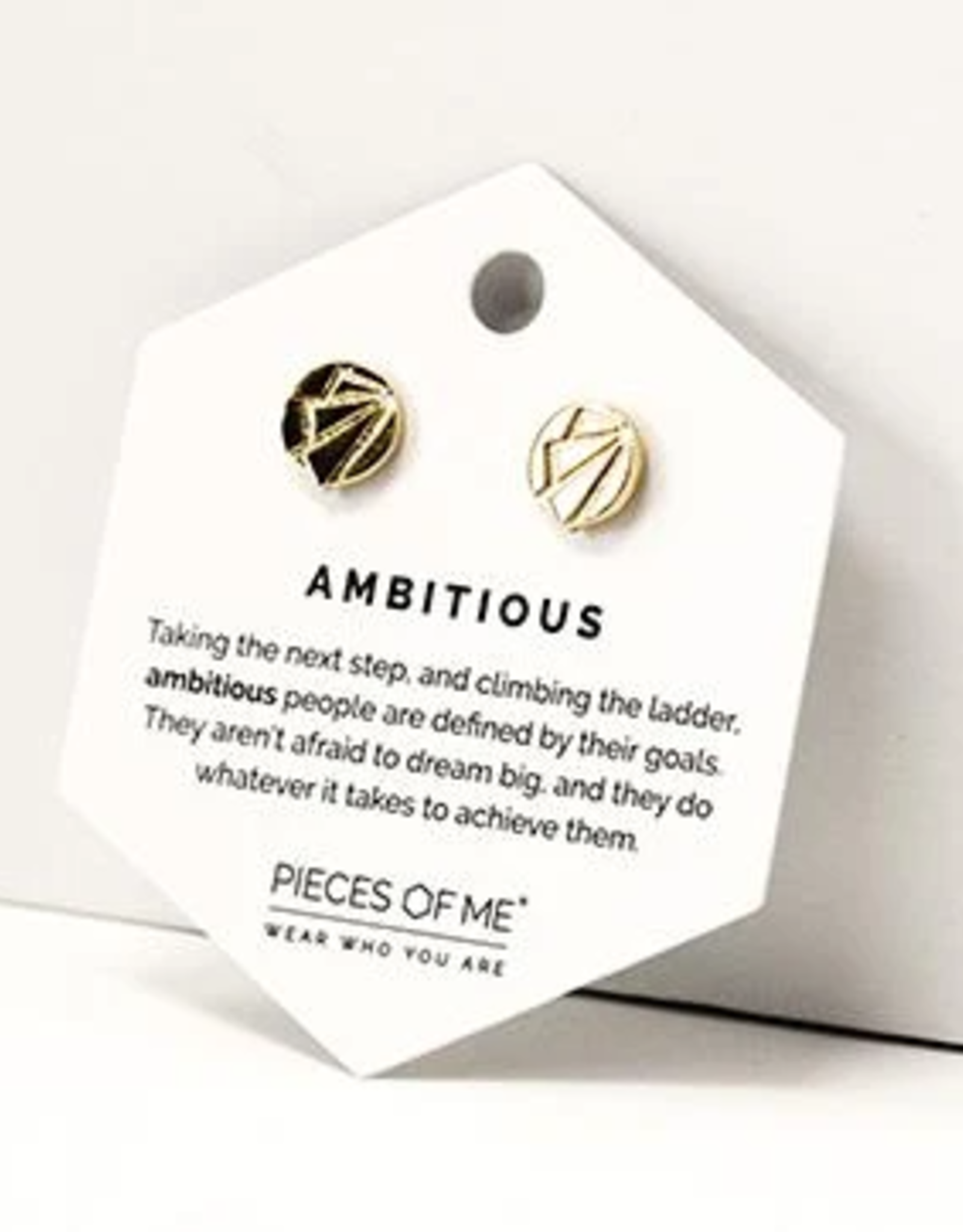 Pieces of Me Ambitious Earrings - Gold