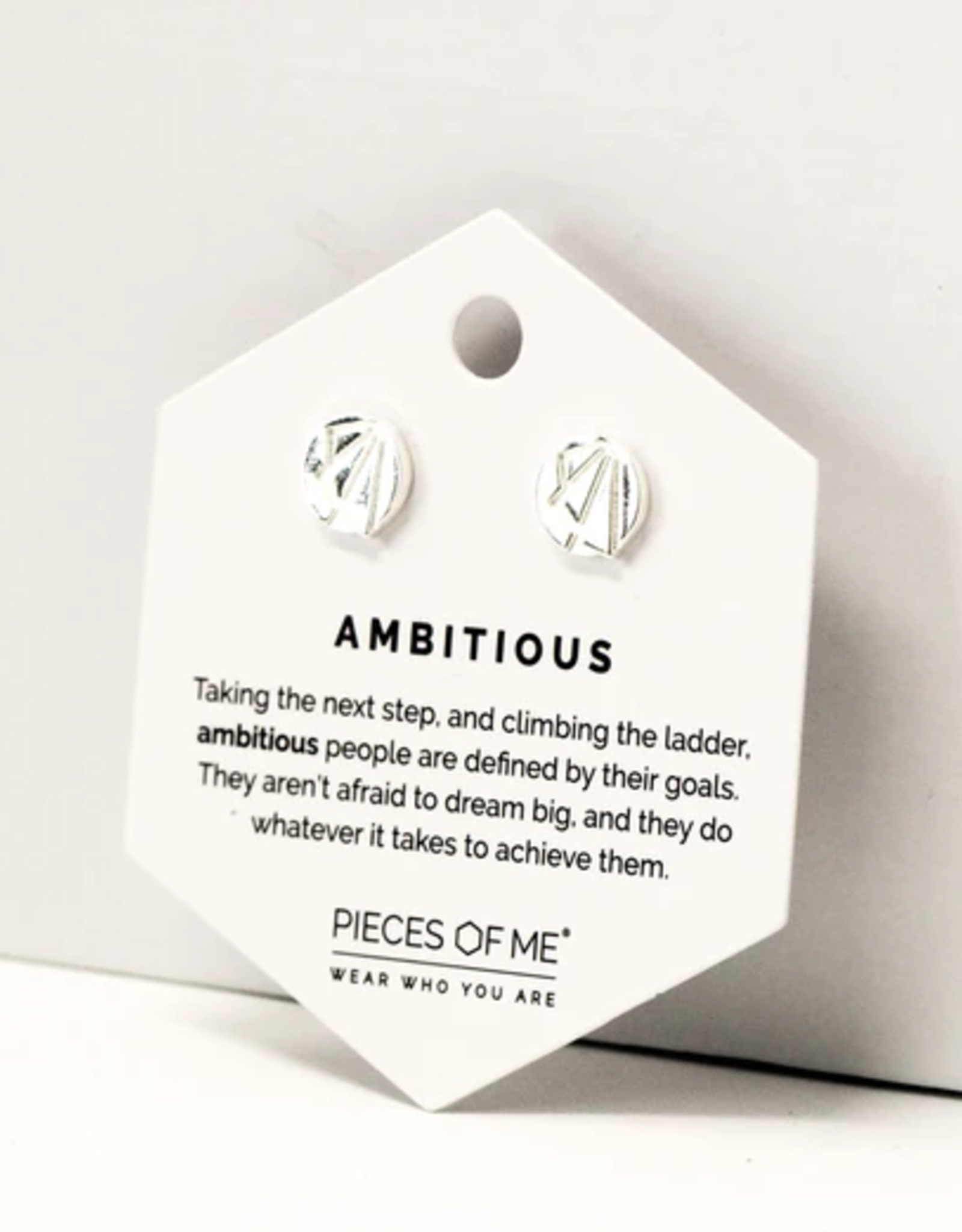Pieces of Me Ambitious Earrings - Silver