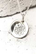 Pieces of Me Compassionate Necklace - Silver