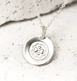 Pieces of Me Loving Necklace - Silver
