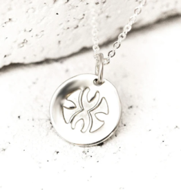 Pieces of Me Loyal Necklace - Silver